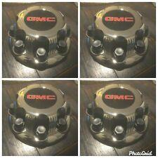 GMC Center Cap Hubcap chrome wheel 5075 Sierra Yukon XL 1500 2500 3500 SET OF 4