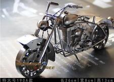 Metall-Motorradmodell Modell Motorrad Handgefertigt 26x13x8cm 740g Super Cool