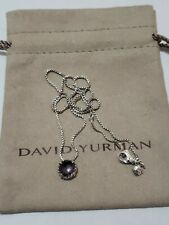 David Yurman Chatelaine Pendant Necklace with Black Orchid