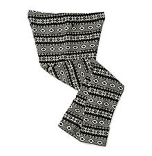 Ralph Lauren Girls Leggings Cotton Pants Elastic Waist Print Black Size L NWT