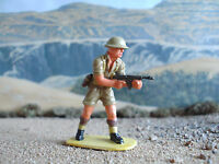Airfix World War 2 British 8th army soldier with machine gun 1:32 painted