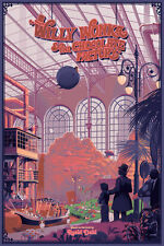 Laurent Durieux Willy Wonka Foil Movie Poster Art Print Mondo Spusta Rory Kurtz