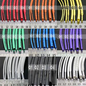 Φ0.6mm-5mm 2:1 Heat Shrink Shrinkable Heatshrink Tube Tubing Wire Sleeving