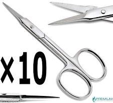 10× Nail Cuticle Straight Scissor Manicure Pedicure Beauty Premium Instruments
