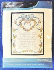 St Paul to the Corinthians About Love Counted Cross Stitch Kit Bucilla Sampler