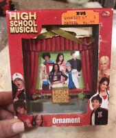 Disney Hallmark High School Musical Christmas Ornament.  New in Box.