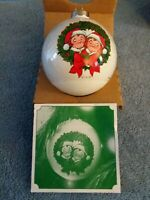 Vintage Retro 1981 Campbell's Kids Collectors Ball Christmas Ornament