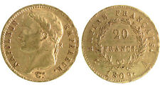 20 Francs Or NAPOLEON IER EMPEREUR - 1809 A PARIS