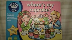Orchard Toys Where's My Cupcake? Educational age 3 + years