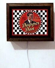 Dapper Dan Barber Shop Man Cave Salon Stylist Shave Pomade Light Lighted Sign