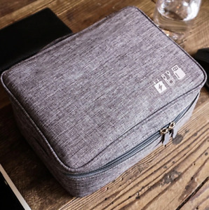 Device Storage Bag Data Cable Multi Function Charger Pouch iPad iPhone Samsung