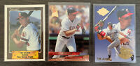 TIM SALMON Baseball Card Lot -1993 Fleer Ultra Rookie, 90 Pro Cards RC LA Angels