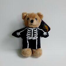 "Vintage Dakin Happy Halloween Teddy Bear Stuffed  Animal Plush 7"" Free Ship"