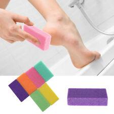 Pumice Sponge Stone Exfoliate Foot Hard Dead Skin Remove Pedicure Scrub Tool NEW