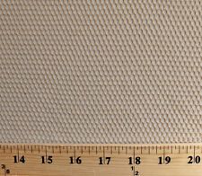 Fishnet Mesh Tan Polyester Fabric by the Yard D181.01
