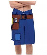 NEW Bigmouth Handyman Graphic Tool Belt Cotton/Poly Novelty Bath Beach Towel