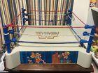 VINTAGE WWF LJN SLING EM FLING EM WRESTLING RING ORIGINAL 1985 SUPERSTARS TOY