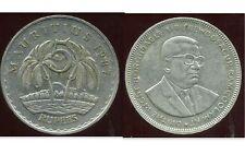 MAURITIUS  -  ILE MAURICE  5  rupees  1987    ( etat )