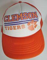 Clemson Tigers Hat Cap Snapback Trucker University USA NCAA New