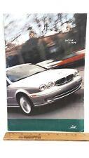 2002 Jaguar X-Type - Original Prestige Colour Catalog - Good Condition (Cdn)
