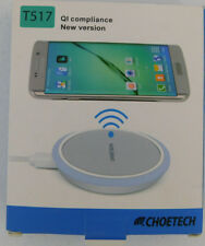 Choetech T517 Qi Wireless NEW Charging Pad Samsung iPhone Compatible Apple