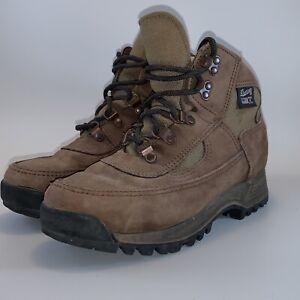 Danner USA MADE 44900 7 M ? Mid Boot Cross Hiker Hiking Trail Brown Vibram