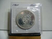 1964  CANADA  SILVER  1$   DOLLAR   HIGH   GRADE    64   PROOF  LIKE    SEALED