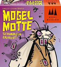 Schmidt Spiele/Drei Magier Mogel Motte Kartenspiele Karten Spielzeug Spiel NEU