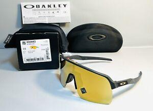 New Oakley Sutro Lite Sunglasses Matte Carbon - Prizm 24k Gold Lens Limited Rare