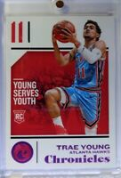 2018 18-19 Panini Chronicles Pink Trae Young Rookie RC #94, Atlanta Hawks