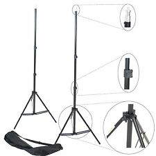 2 x Professional Kit Stand Lighting for Light Flash Lighting Studio Photo Case