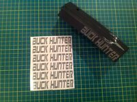 """BUCK HUNTER"" Sticker 6 Pack, goes on side of standard mags! All colors!"