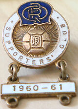 QUEENS PARK RANGERS Vintage SUPPORTERS CLUB badge 1960-61 bar 21mm x 22mm