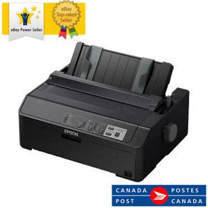 Epson - C11CF39201 - Epson LQ-590II 24-pin Dot Matrix Printer - Monochrome - 584
