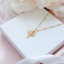 Gold Plated Heart Necklace, Dainty Boho Necklaces, Necklaces For Women