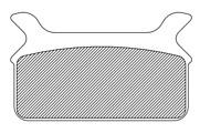 Drag Specialties Organic  Brake Pads 1720-0207