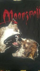 Rare MOONSPELL Wolfheart XL long sleeve shirt Black Metal