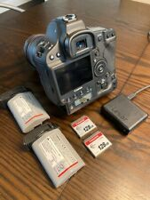 Canon EOS 1D X Mark II (Body Only) with 2 Batteries and 2 128GB Fast Cards.