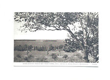 Overlooking Eagle Bay From Coral Hill, Door County, Ephraim WI RPPC