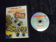 "USED DVD Movie ""Dispicable Me"" Minion Madness 3 NEW Mini-Movies  (191)"