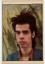 Nick Cave Interview NME Cutting 1984