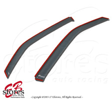 Light Tinted Out-Channel Vent Visor Deflector 2pcs For 1994-2004 Chevrolet S-10