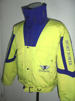 vintage 90s SCHÖFFEL neon Gore-Tex Jacke outdoor 24 carat collection 90er Gr.M