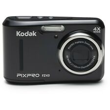 GREAT KODAK PIXPRO FZ43 BLACK 16 MEGA PIXELS 4X ZOOM DIGITAL CAMERA VIDEO PHOTO