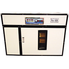 RITE FARM PRODUCTS PRO-528 CABINET INCUBATOR & HATCHER 528 CHICKEN EGG CAPACITY
