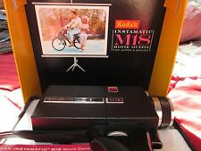 Vintage Kodak M18 Instamatic Movie Camera With Pistol Grip In Box