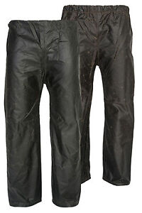 WAX TROUSERS FOR SHOOTING HUNTING FISHING BEATING  WATERPROOF LEGGINGS 3 COLOURS
