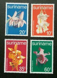 [SJ] Suriname Orchids 1979 Flower Flora Plant (stamp) MNH