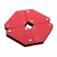 4 Pcs Magnetic Welding Holder Angle Soldering Locator Tools 45° 90° 135° CorX5K6