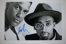 Spike Lee SIGNED 20x30cm Mo 'Better Blues foto autografo/Autograph in persona